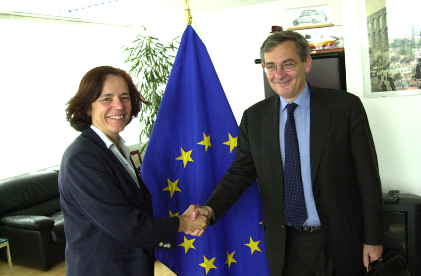 Visit of Jean Lemierre, President of the EBRD, to the EC