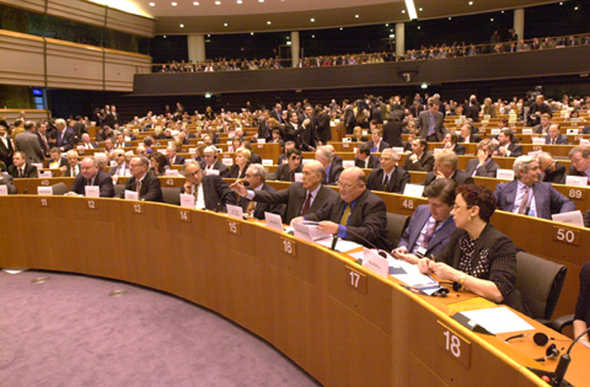 Opening session of the Convention on the future of Europe