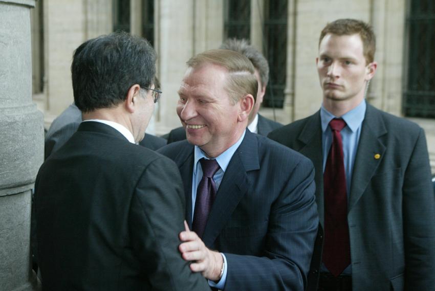 Visit of Leonid Kuchma, President of the Ukraine, to the EC