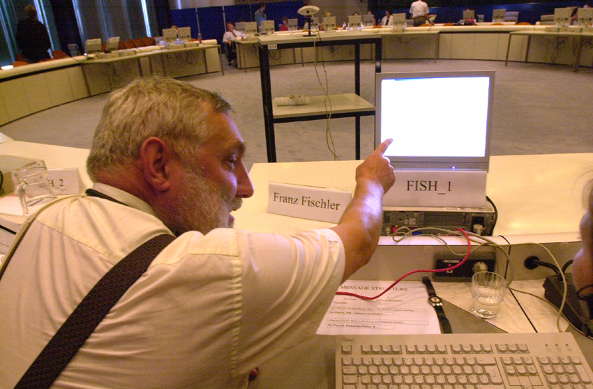Internet chat with Franz Fischler, Member of the EC