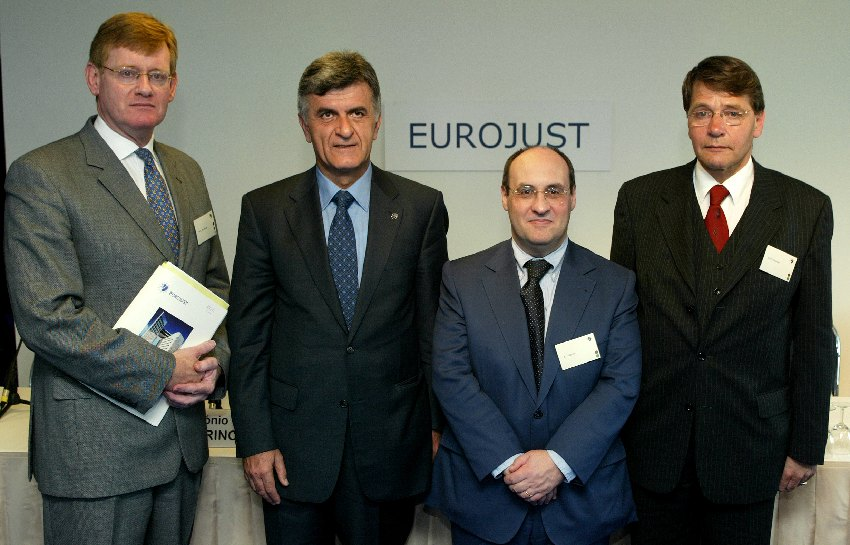 Participation of António Vitorino, Member of the EC, at the inauguration of the new Eurojust headquarters