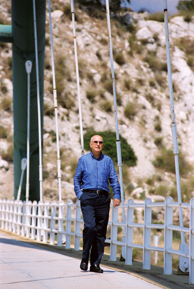Portraits of Stavros Dimas, Member of the EC, taken in Greece, his home country
