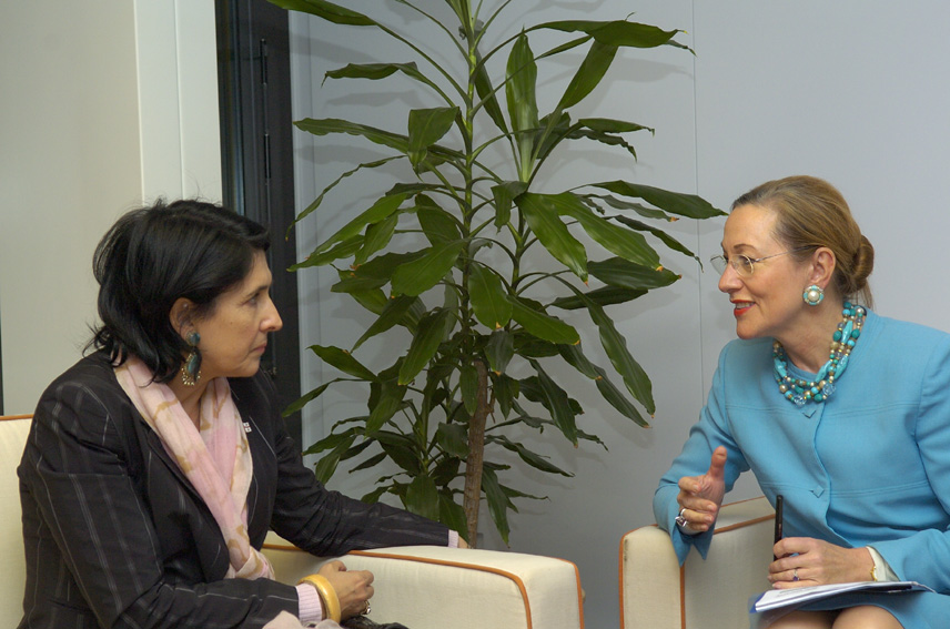 Visit of Salomé Zourabichvili, Georgian Minister for Foreign Affairs, to the EC