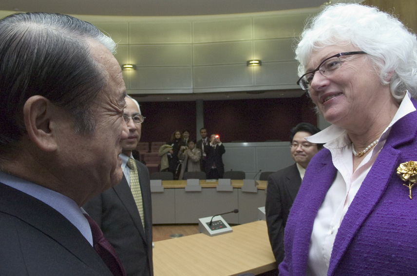 Visit of Yoshinobu Shimamura, Japanese Minister for Agriculture, Forestry and Fisheries, to the EC