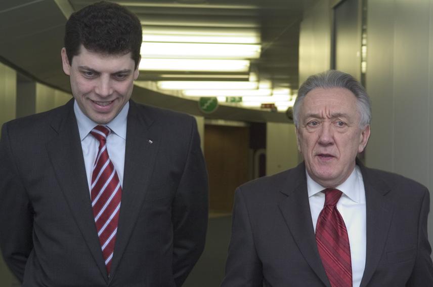 Visit of Milen Velchev, Bulgarian Minister for Finance, to the EC
