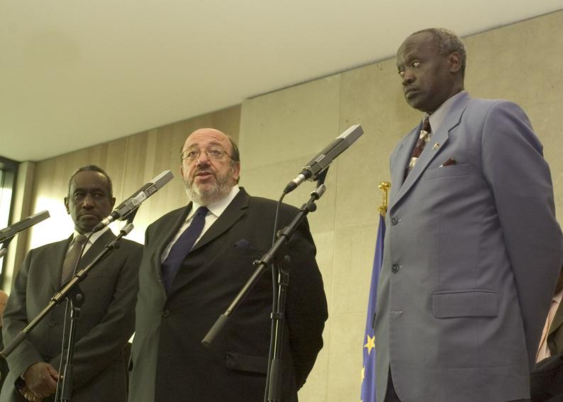 Signature of an EU/Sudan co-operation agreement