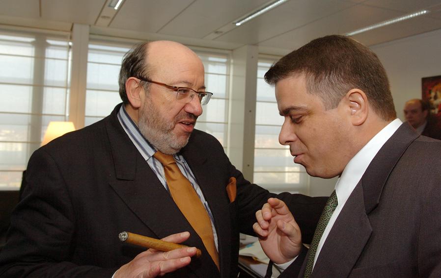 Visite de Felipe Pérez Roque, ministre cubain des Affaires étrangères, à la CE