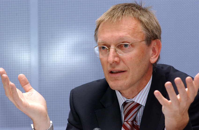 Janez Potocnik, member of the EC at the Science in Society Forum