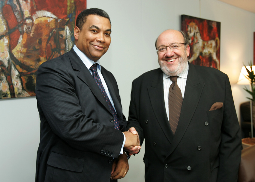 Visit of Olivier Kamitatu, Speaker of the Parliament of the Democratic Republic of Congo, to the EC