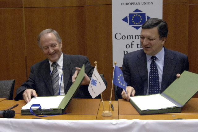 Visit of José Manuel Barroso, President of the EC, to the Committee of the Regions of the EU
