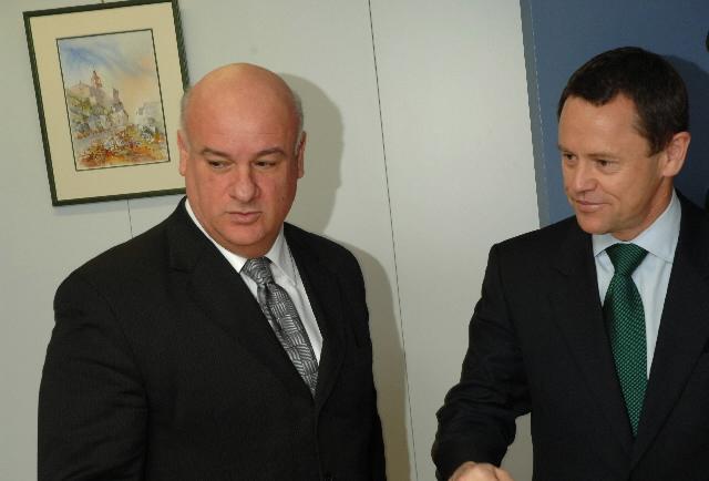 Visite de Simon Upton, directeur de la High Seas Task Force, à la CE