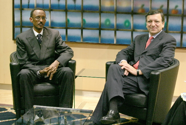 Visit by Paul Kagame, President of Rwanda, to the EC