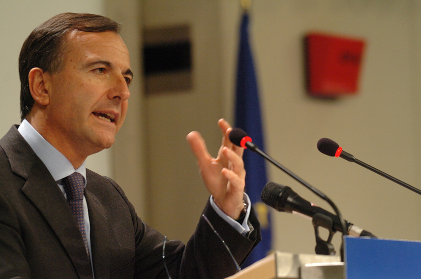 Press conference by  Franco Frattini, Vice-President of the EC on diplomatic and consular protection