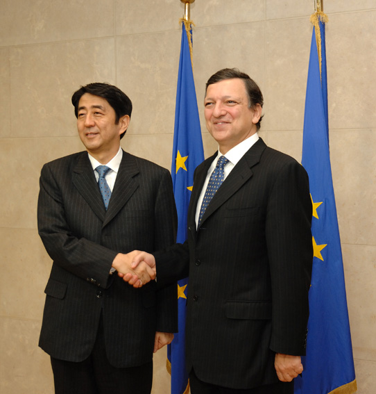Visit by Shinzō Abe, Japanese Prime Minister, to the EC