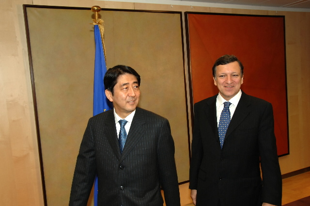 Visit by Shinzō Abe, Japanese Prime Minister, to the EC