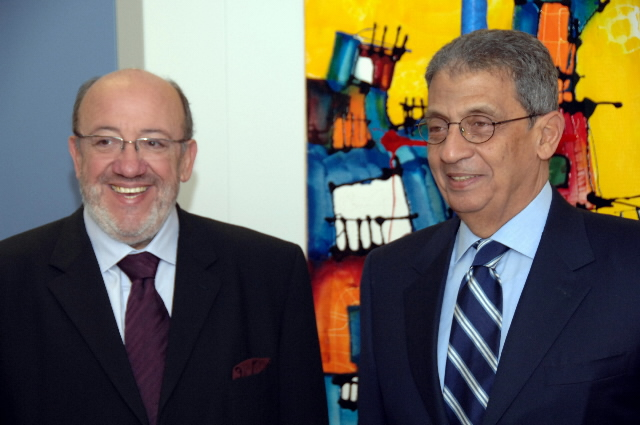 Visit by Amr Moussa, Secretary General of the Arab League, to the EC