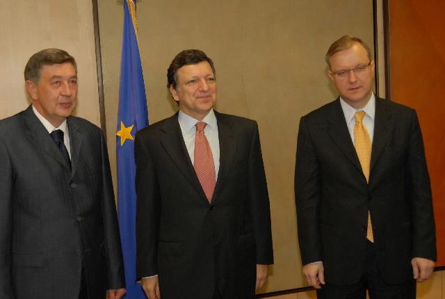 Visite de Nebojša Radmanović, président de la présidence collégiale de la Bosnie-Herzégovine, à la CE