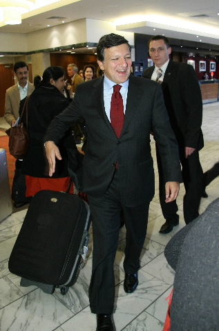 Visit by José Manuel Barroso, President of the EC, to Poland