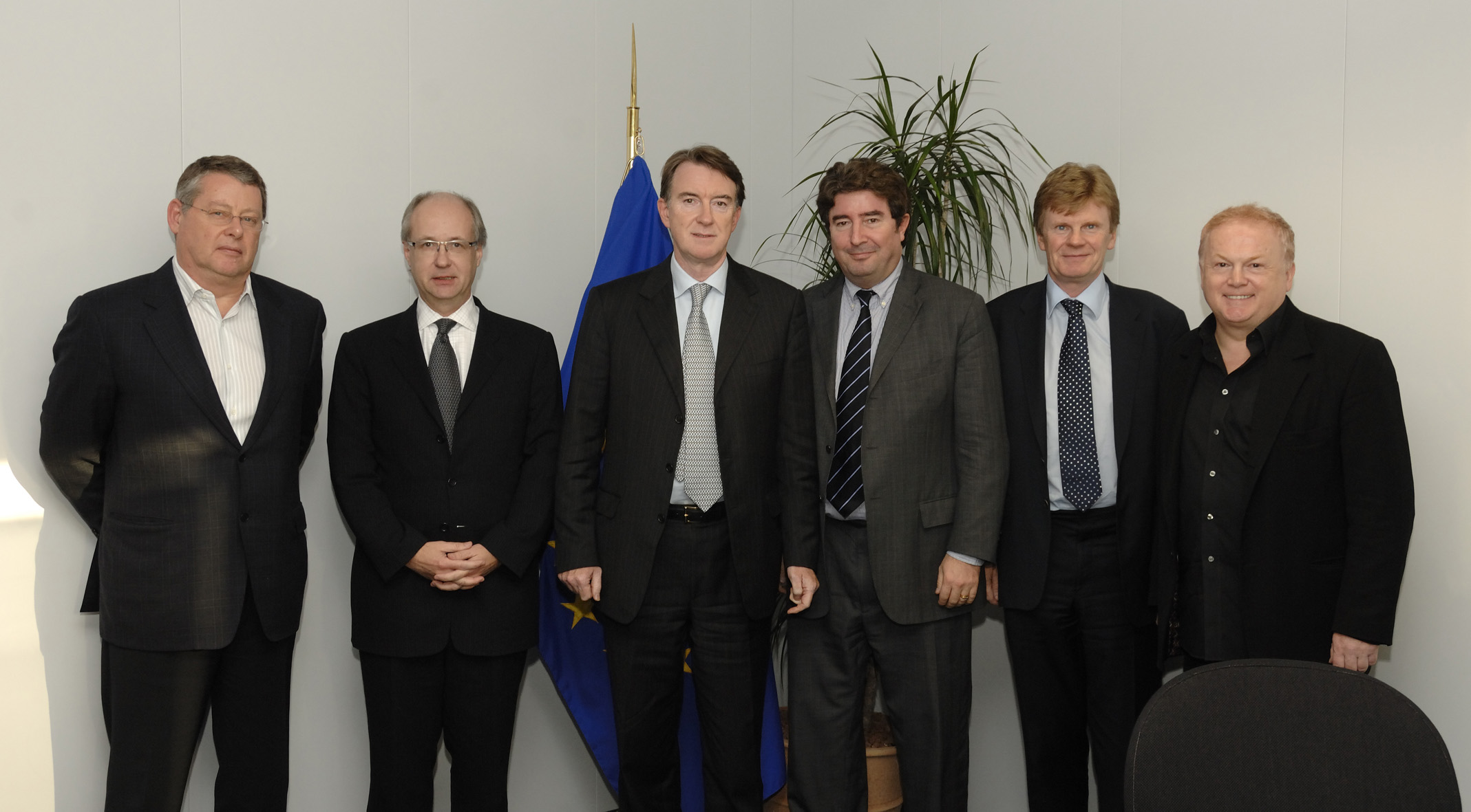 Visit by a delegation of CEOs from record companies to the EC