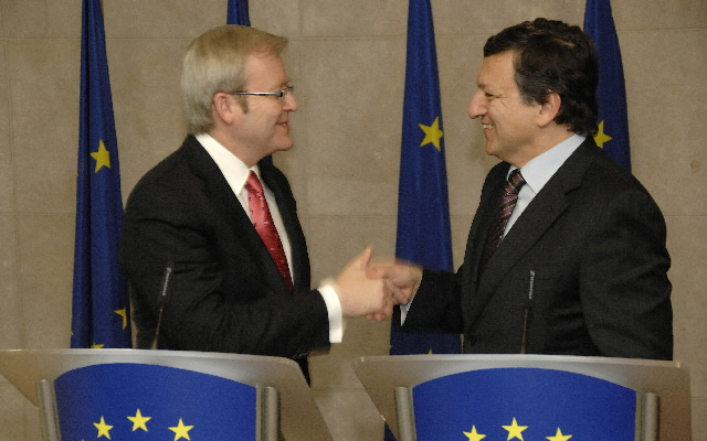 Visit by Kevin Rudd, Australian Prime Minister, to the EC