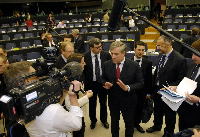 Audition of Antonio Tajani, Vice-President of the EC, in front of the EP