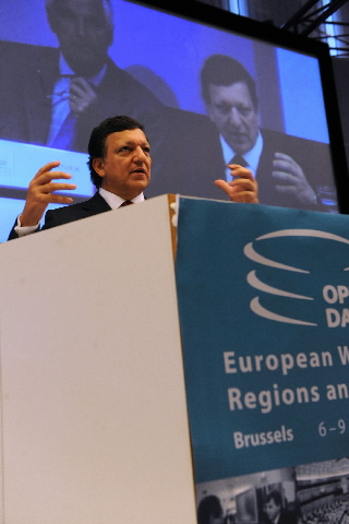 Participation of José Manuel Barroso, President of the EC, in the European Week of Regions and Cities