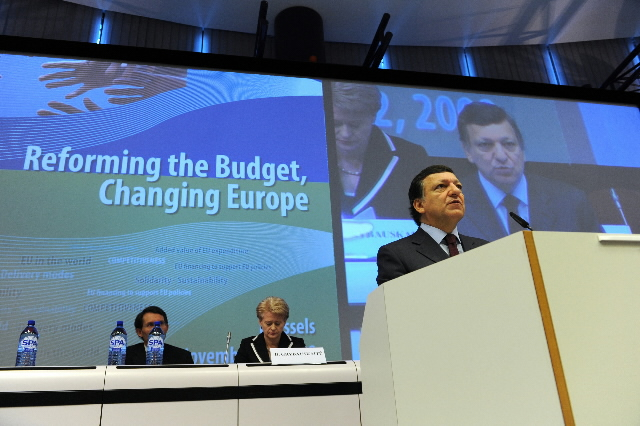 Participation of José Manuel Barroso, President of the EC, in the Reform the Budget, Change Europe conference