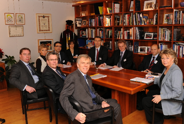 Visit of the CEOs of the European Competitive Telecommunication Association to the EC