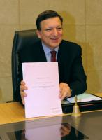 First weekly meeting of the Commission of José Manuel Barroso