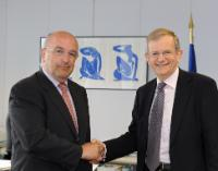 Visit of Peter Ayliffe, President and Chief Executive of Visa Europe, to the EC