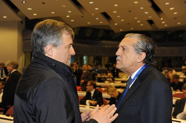 Participation of Antonio Tajani, Vice-President of the EC, to the SME Finance Forum 2010