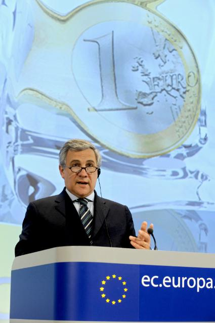 Participation of Antonio Tajani, Vice-President of the EC, to the SME Finance Forum 2010