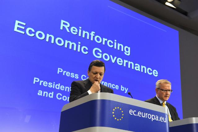 Joint press conference by José Manuel Barroso, President of the EC, and Olli Rehn, Member of the EC