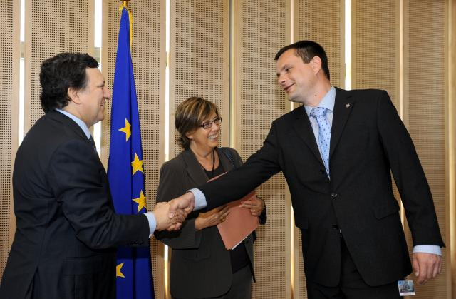 Visit of Mercedes Bresso, President of the Committee of the Regions, to the EC