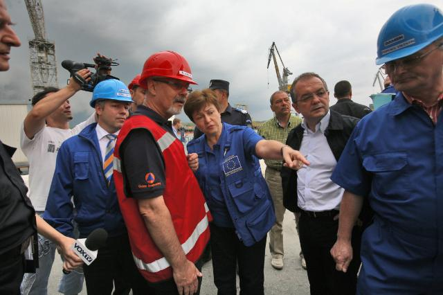 Visit of Kristalina Georgieva, Member of the EC, to Romania
