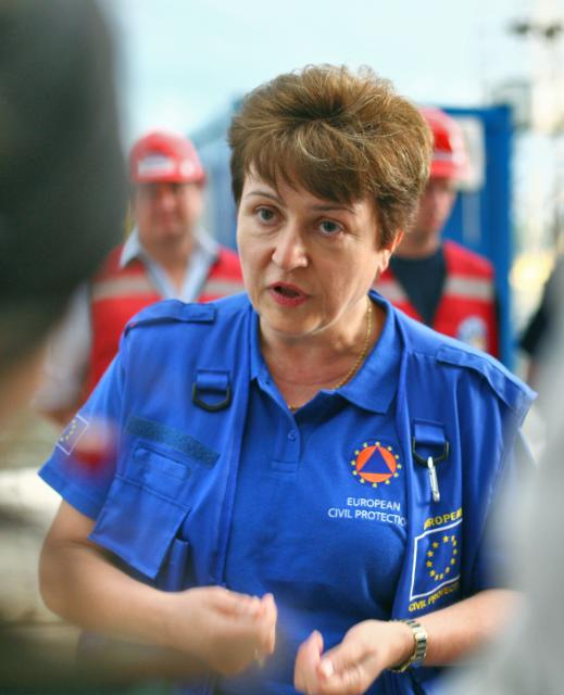 Visit of Kristalina Georgieva, Member of the EC, to Romania