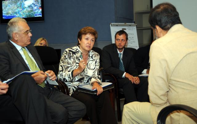 Visite de Kristalina Georgieva, membre de la CE, au Pakistan touché par de fortes inondations