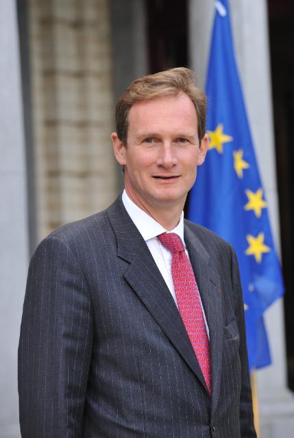 Nicolas de la Grandville, chef du protocole de la CE