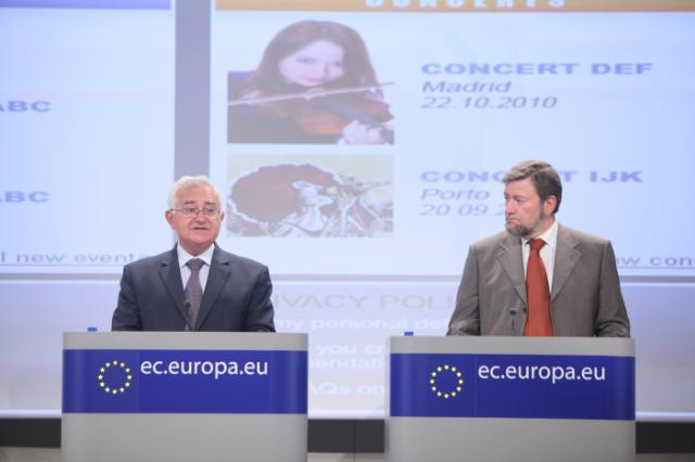 Press conference by John Dalli, Member of the EC, on the final results of the electronic goods sweep and the first results of a new sweep targeting events ticketing sites