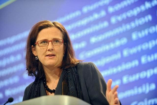 Press conference by Cecilia Malmström, Member of the EC, on the regulation on the marketing and use of explosive precursors