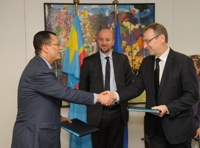Signature of a Voluntary Partnership Agreement between EU and Congo in the framework of FLEGT