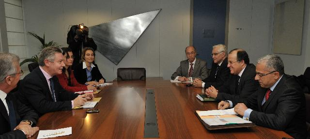 Visit of Taïeb Fassi-Fihri, Moroccan Minister for Foreign Affairs and Cooperation, and Abdellatif Maâzouz, Moroccan Minister for Foreign Trade, to the EC