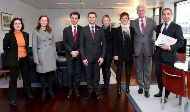 Visit of Chantal Jouanno, French Minister for Sport, to the EC