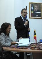 Visite d'Andris Piebalgs, membre de la CE, au Timor-Oriental