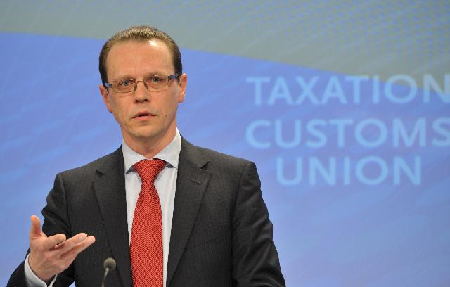 Press conference by Algirdas Šemeta, Member of the EC, on the European corporate tax base