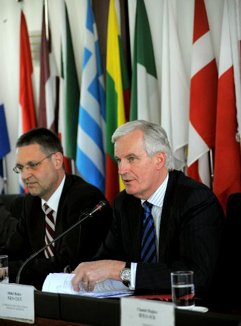 Visit of Michel Barnier, Member of the EC, to China