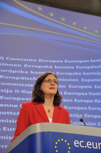 Press conference by Cecilia Malmström, Member of the EC, following her recent visit to Tunisia