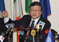 Visite de José Manuel Barroso, président de la CE, en Tunisie