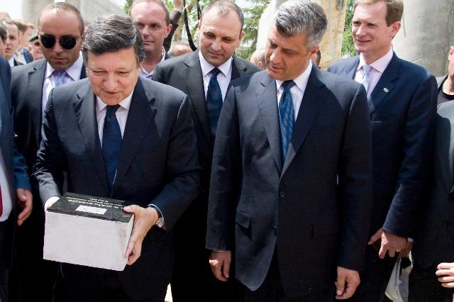 Visit of José Manuel Barroso, President of the EC, and Štefan Füle, Member of the EC, to Serbia and Kosovo