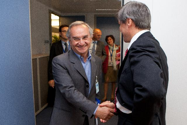Visit of Mario Campli and Pedro Narro, Members of the EESC, to the EC